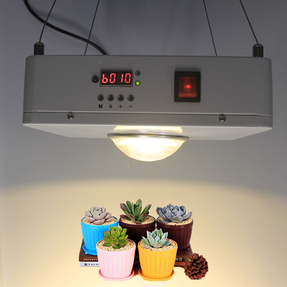 CREE CXB3590 100W COB LED Grow Light Full Spectrum 24 hours cycle timer LED Growing Lamp For Indoor Plant Growth Lighting