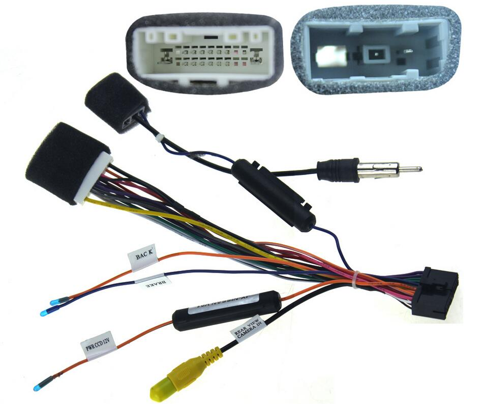 JOYING CAR RADIO INSTALL DASH STEREO WIRE HARNESS PLUG CABLE FOR NISSAN