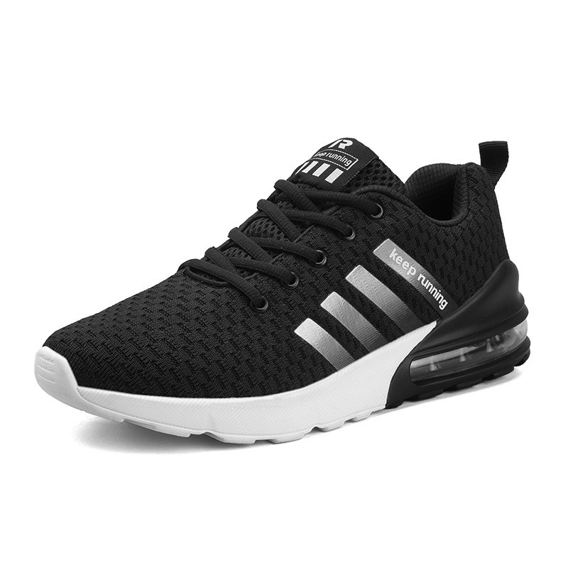 NEW Brand Men's Casual Shoes Fashion Breathable Sneakers Fashion Flats Zapatillas Deportivas Hombre Breathable Casual Shoes-in Men's Casual Shoes from Shoes    1
