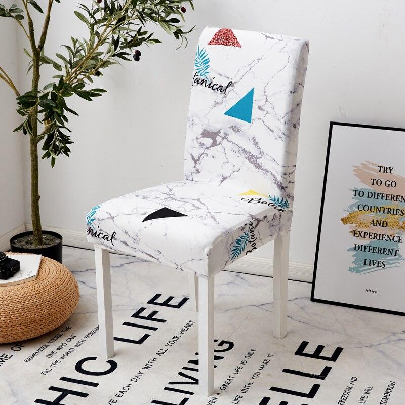 Image 4 - Parkshin мода перо съемный стул крышка большая эластичная Modern современный чехол для кухонного стула чехлы на кресла стрейч для банкета-in Чехлы на стулья from Дом и животные