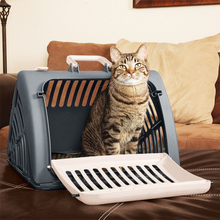 Pet Dog Carrier Box Aircraft Air Transport Collapsible Checked Out Box Puppy Cat цены