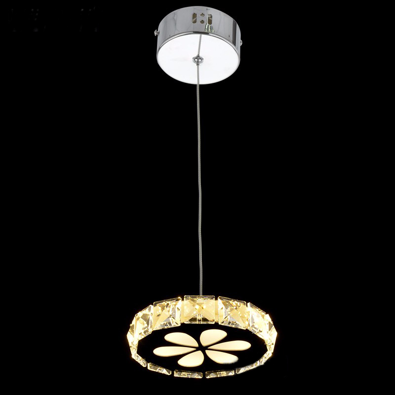 Small Chandelier Lights Round Modern LED Chandeliers Light ...