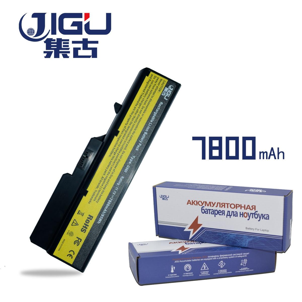 JIGU 9 Células Bateria Do Portátil Para Lenovo IdeaPad E47G E47L G465 G470 G475 G560 G565 G570 G780 G770 V360 V370 v470 V570 Z370