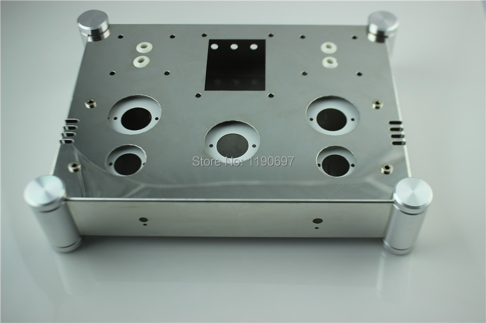 Power Amplifier Chassis Stainless Steel Perforated Casing DIY Chassis 310mm 230mm 80mm 1piece Free Shipping