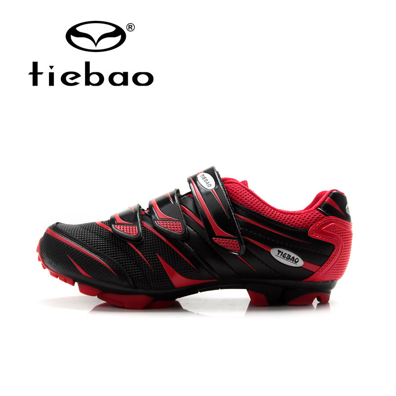 Tiebao New Unisex MTB Bike Shoes Breathable High Quality Cycling Bicycle Shoes Wear-reisistance Self-locking Bike Shoes mountain bike four perlin disc hubs 32 holes high quality lightweight flexible rotation bicycle hubs bzh002