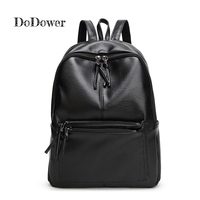 Do Dower Women Backpack Pu Leather School Bags Teenagers High Quality Backpacks Women 2017 Shoulder Bag