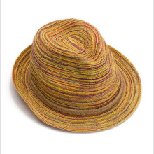Best Deal Summer Autumn Fashion Womens Straw Hat Color Striped Beach Sun Hats Foldable 1pc