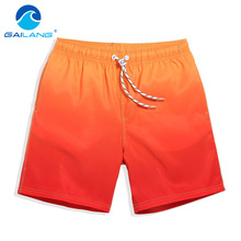 Gailang Brand Men Swim Board Shorts Trunks Surf Swimming Beach Shorts Swimwear Swimsuits Men's Running Sports Shorts Bermuda