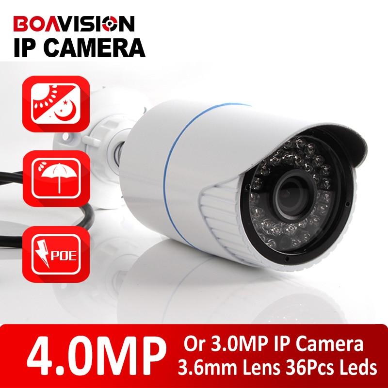Bullet HD 4MP/ 3MP IP Camera Onivf Outdoor POE CCTV Security Camera IR Night H.265/H.264 CCTV Surveillance Camera XMEye P2P View экшен камера bullet hd