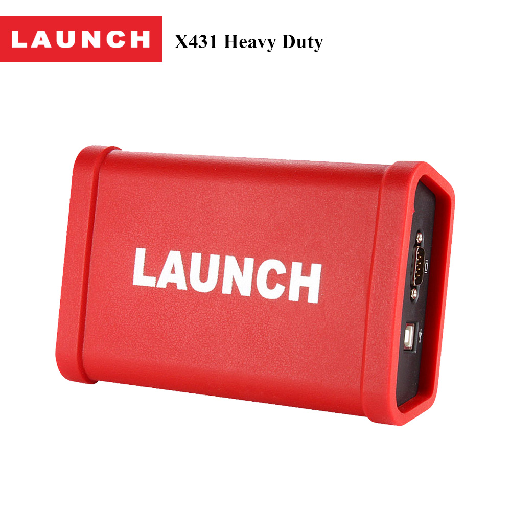 LAUNCH Official Store scanner X431 HD Heavy Duty Truck Diagnostic Module Work With Launch X431 V and Software Free Update Online  цены