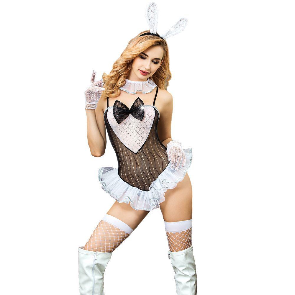 Lingerie Set Erotic costume woman sex uniform sleepwear maid underwear role play game wear Sexy High Quality Bunny Girl Cosplay