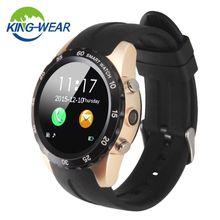 KW08 Новые Bluetooth Смарт Часы MTK6260 Совместим С Android IOS Системы 1.22 Дюймов Поддержка СИМ-Карты NFC
