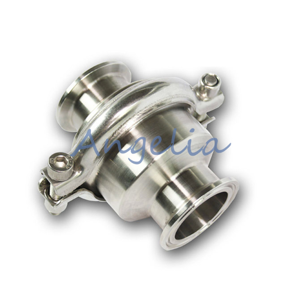 3-1/2 OD 106mm Stainless Steel 304 Tri-Clamp Vertical Sanitary Check Valve 1pc 25mm od sanitary check valve tri clamp type stainless steel ss sus 304