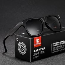 Unisex Polarized Sunglasses Fashion Square Frame Sun Glasses Driving Shades Outdoor Sports Eyewear Men Goggle UV400