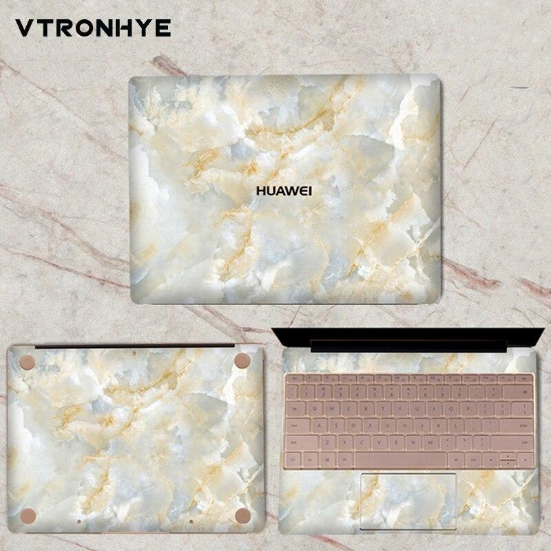 Marble series Vinyl Decal Sticker for Huawei MateBook 13 3 Slim PVC Laptop Skin for HUAWEI