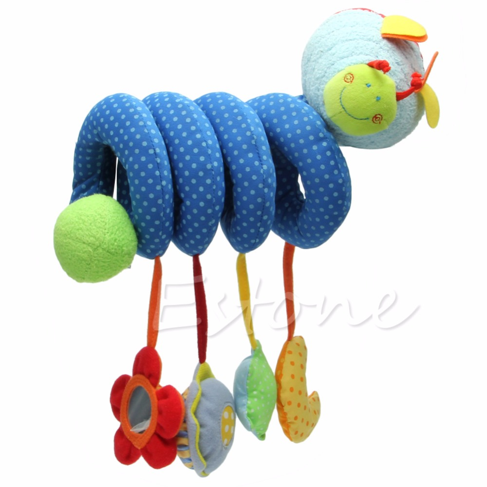 Hot Spiral Stroller Car Seat Travel Lathe Hanging Activity Toys Baby Rattles Toy In Mobiles From Hobbies On Aliexpress