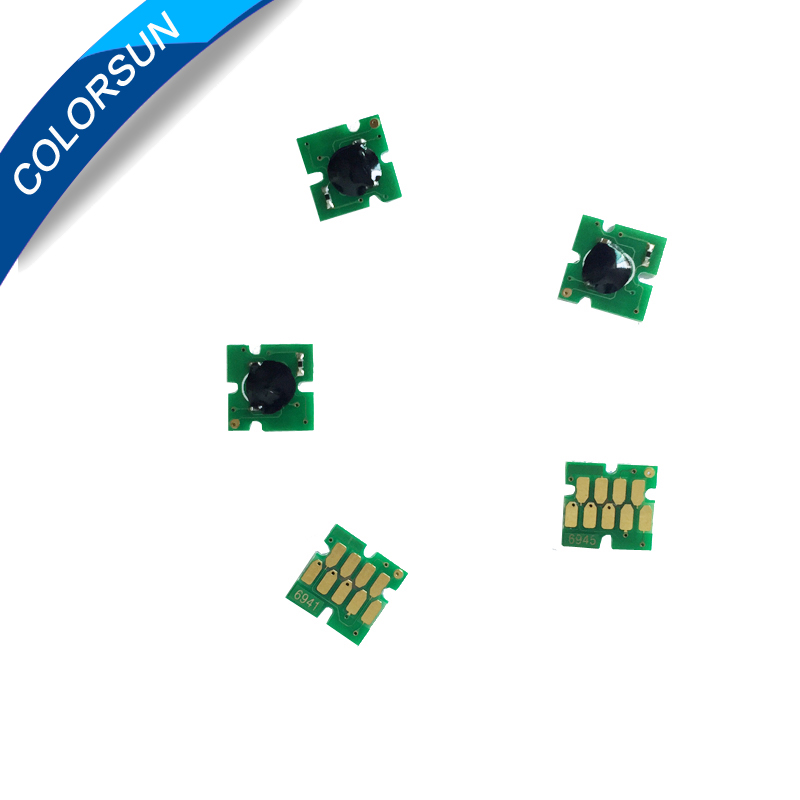 5 дана T6941-T6945 Бір уақытта чип Epson SureColor - Кеңсе электроника - фото 2