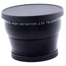 цена на 58mm 2.2X Additional Telephoto  Lens for Canon 77D/350D / 400D / 450D / 500D / 1000D / 550D / 600D / 1100D 18-55MM Lens