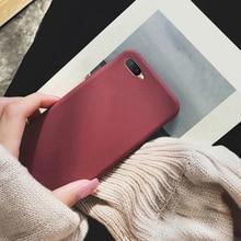 Matte Mobile Phone Silicone Soft Case for OPPO