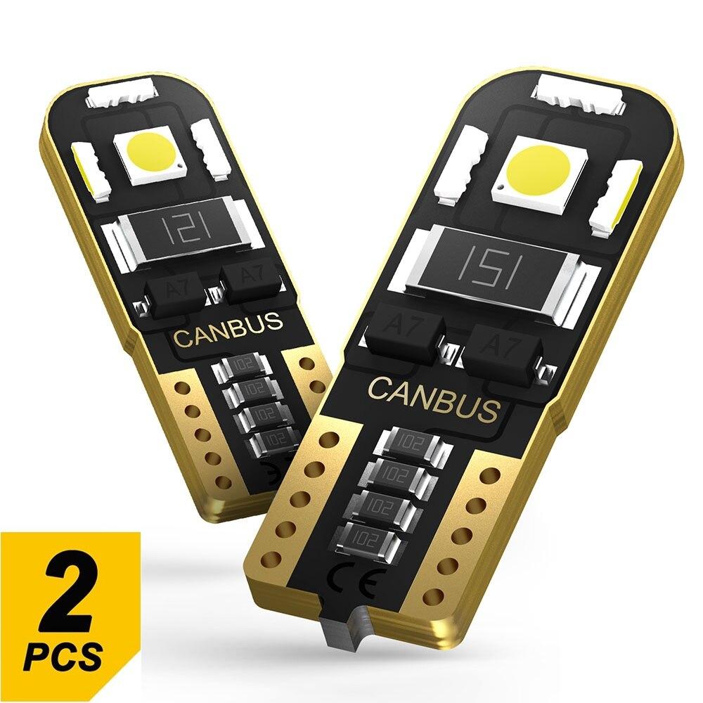 2x W5W T10 Led Bulb 194 2825 Car Parking Light Interior Lamp For Citroen C5 C3 C4 Picasso Xsara Berlingo Saxo C2 C1 C4L DS3