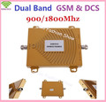 Dual band 65dbi GSM 900Mhz booster+DCS 1800Mhz Repeater , 2G GSM DCS 4G Repetidor Booster  , GSM 4G Mobile Repeater Amplifier