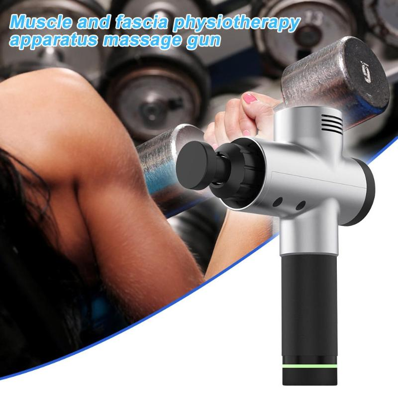 Massage Gun Body Relax Pain Relief Elektrische Vibrerende Therapie Tissue Muscle Massager Training Oefenen Body Ontspanning - 3