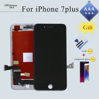 AAA+++Screen Replacement for iPhone 7 Plus LCD Display Touch Capacitive Screen Digitizer Assembly Ecran Repair Parts+2 Free Gift