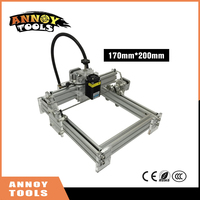 300mw 15W 15000MW Laser Power, DIY Mini Laser Engraving Machine, 17*20cm Engraving Area ,Mini Marking Machine E, Advanced Toys