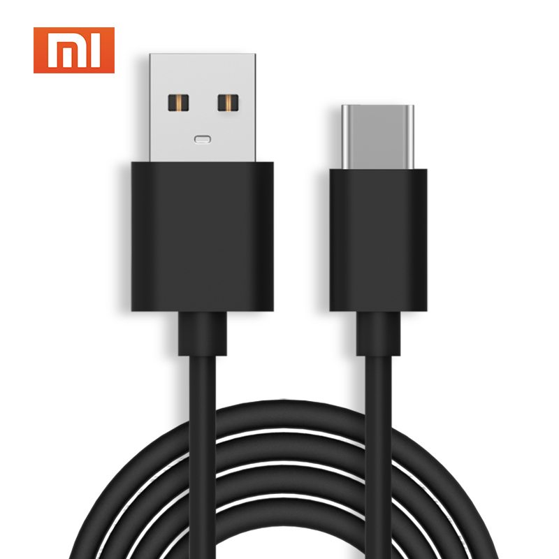 Confident Original Xiaomi Mi A1 Charger Cable Usb Type C 80cm Data Charge Power Cable For Mi 6 8 Se Mix 2s Mix 2 Max 2 Mi4c Mi5 Mi5s 5x Less Expensive