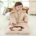 Зима толщиной проложенный хлопка детские спальные мешки анти kick дети дышащий хлопок спальный мешок 0-4 лет оптовая