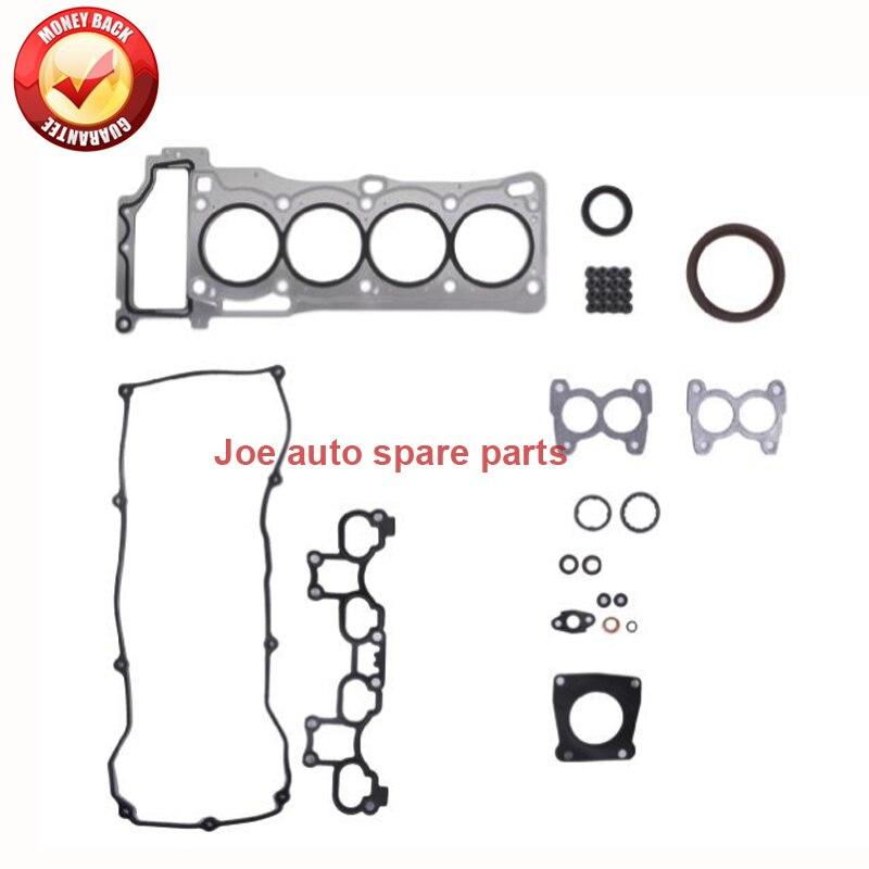 QG16 QG16DE Động Cơ Đầy Đủ gasket set kit đối với Nissan Sunny NEO N16 Primera P12 Sentra N16 Scala Almera 1.6L 10101-8M027 101018M027