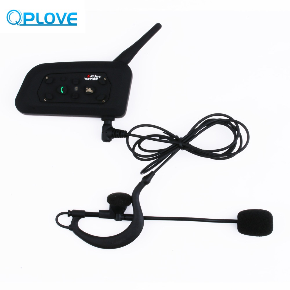 Vnetphone V6C professionnel Football arbitre Interphone sans fil 1200 M Distance Effective suspension Microphone Interphone outil