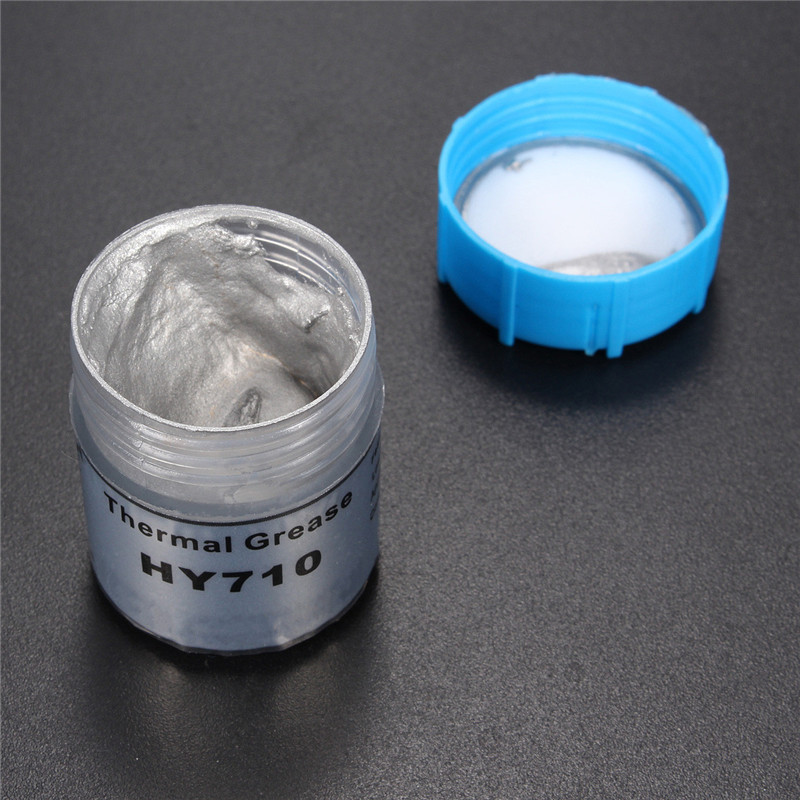 HY710 10g Silver Thermal Grease Silicone Grease Conductive Grease Paste For CPU GPU Chipset Cooling Compound Silicone