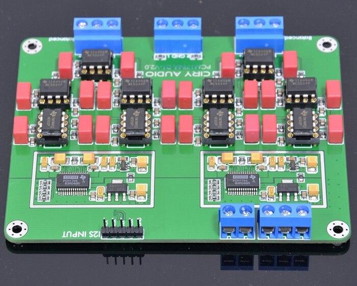 NEW HiFi Parallel PCM1794A Decoders DAC Core Board 24Bit 192kHz pcm 5820 advantech industry board pcm 5820 rev b2 used 100