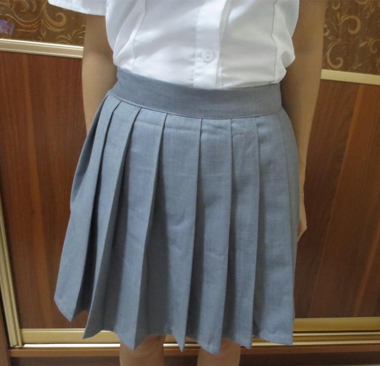Fekete színű japán magas derék JK diák lányok aranyos Cosplay - Női ruházat - Fénykép 4