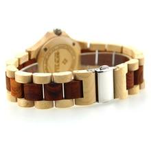 BEWELL Women Wood Watch Top Luxury Brand Women Wooden Watches Ladies Quartz-Watches Women's Wristwatch Relogio Feminino