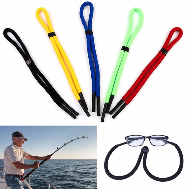 83370e768027 28.7inch Float Sunglasses Lanyard Light Weaving Thread Neck Cord Multi  Color Eyewear Strap Cord Fishing