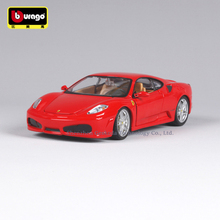 Bburago 1:24 Ferrari F430 collection manufacturer authorized simulation alloy car model crafts decoration collection toy tools