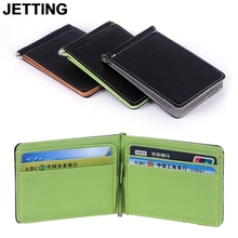 JETTING New South Korea Style Money Clips Fashion Wallet Men Wallet Ultrathin Wallet Men Purses Originality Wallet Card Case
