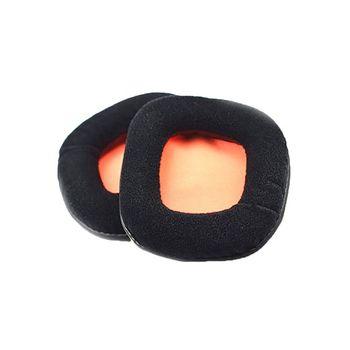 1 para wymiana gąbki do słuchawek Earpads pokrywa miękka pianka gąbka poduszka douszna dla Plantronics GameCom 780 367 377 777 tanie i dobre opinie Nauszniki CN (pochodzenie) 90x90mm 3 54x3 54in 4NB900879 Other