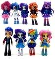 9 шт./лот 12 см аниме рис Equestria Девушки Куклы аниме мультфильм действие рис набор детей игрушки для девочек
