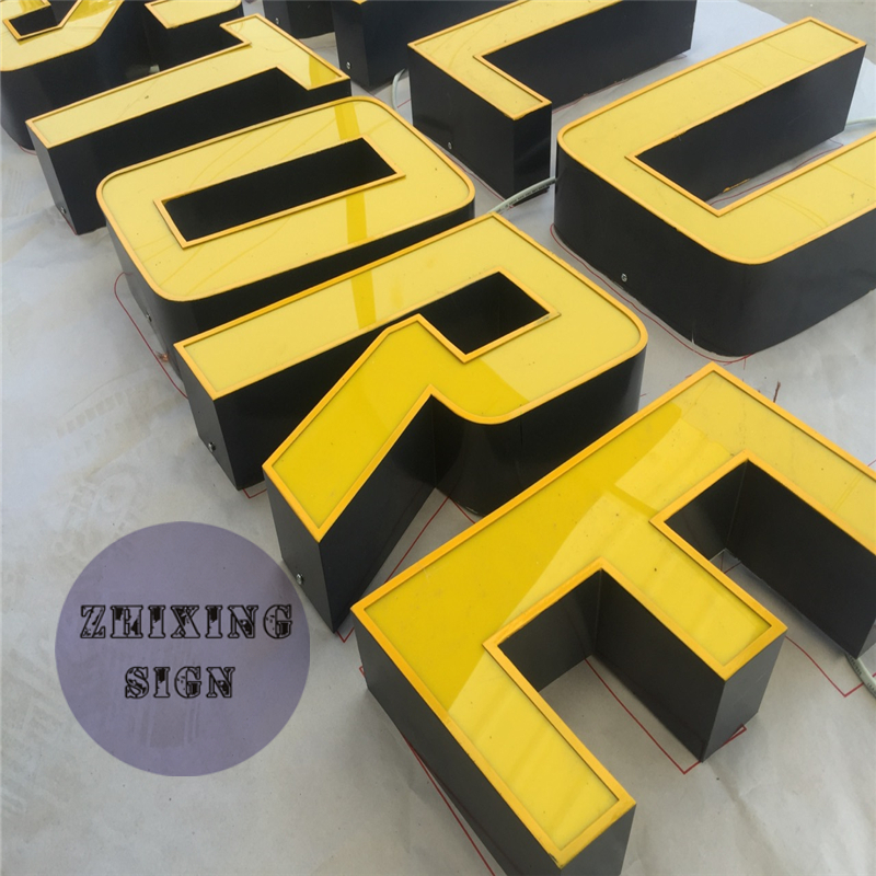 Factory Outlet Custom Outdoor Advertising Letters,  Acrylic Led Store Signs