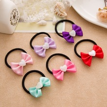12 Pcs/lot children hair accessories baby small ring Korean version of the rubber band girl rope diameter 3.5cm/4.5cm