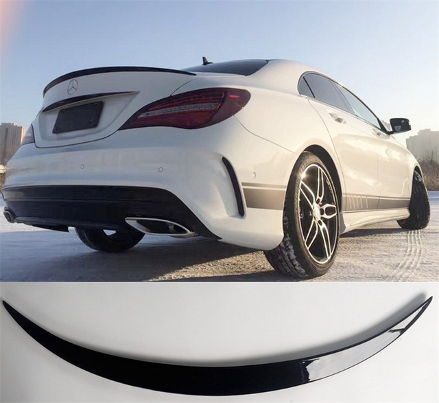 Aliexpress.com : Buy Spoiler For Mercedes Benz CLA Class W117 CLA45 ...
