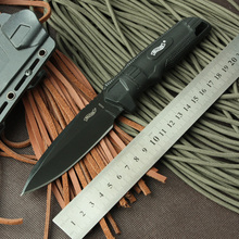 High quality Tactical Knife Walther Fixed 440C Blade Knife with Kydex Sheath Survival Hunting Camping Knives Outdoor Tools KN280