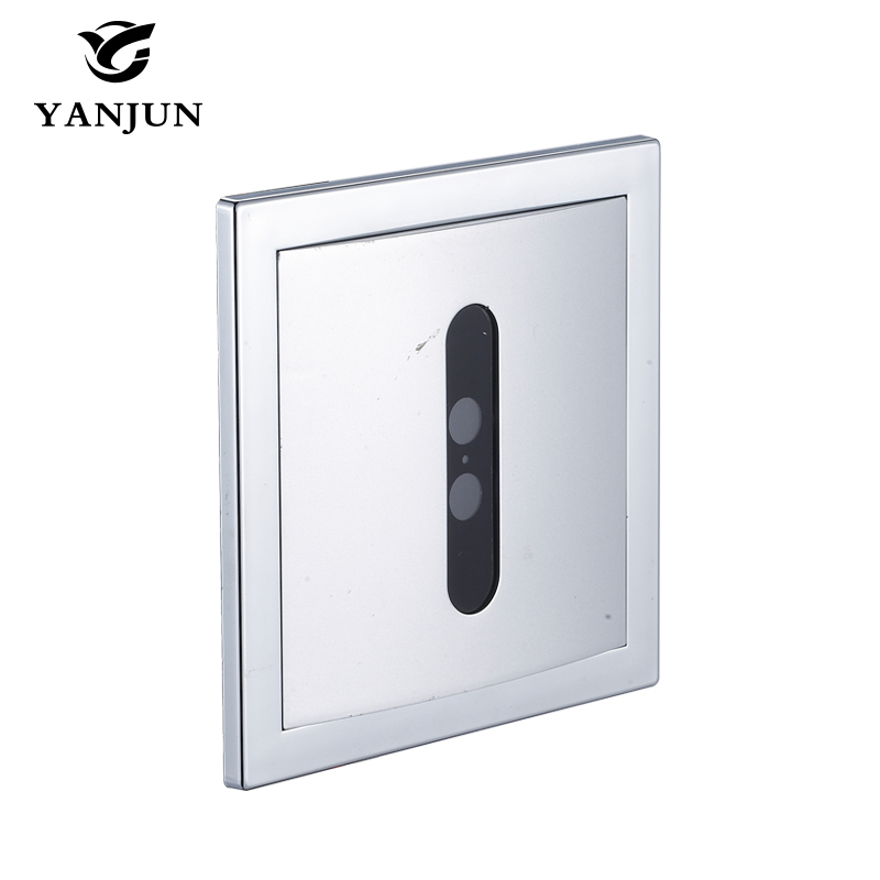 Yanjun Automatic Flush Valve Copper ValveConcealed Flusher Urine Infrared Sensor Urinal Hotel Bathroom YJ6315 1000pcs dupont jumper wire cable housing female pin contor terminal 2 54mm new