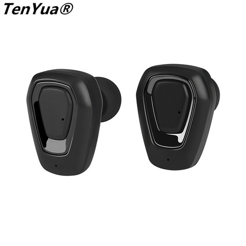 TenYua Wireless Stereo Bluetooth Headset  Handfree Sports Bluetooth Earphone With Charging Box For iphone Android PK X2T i7/i7s Islamabad