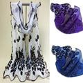 Wonderful fashion accessories scarves chiffon scarf shawl scarves peacock villous