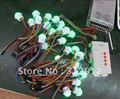 50pca 26mm diameter WS2801 LED pixel module(0.24w)+5V/60W power supply+ SD card pixe module controller(pre-set,easy to use)