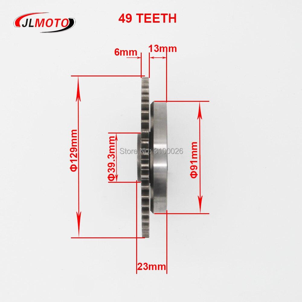 300cc 49t 129mm starting clutch assy fit for jinling jla 931e feishen buyang fa d300 h300 linhai lh260 300 quad bike atv parts in atv parts accessories  [ 1000 x 1000 Pixel ]